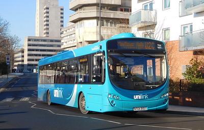 BlueStar (Unilink) 2292 - HF64BSU - Southampton (Central railway station)