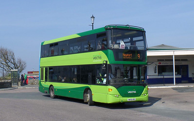 Southern Vectis 1105 - HW58ARU - Ryde (bus station) - 29.3.14