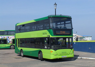 Southern Vectis 1109 - HW58ASU - Ryde (bus station) - 29.3.14