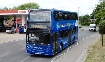BlueStar 1569 - HJ63JOH - Fair Oak (Winchester Road)