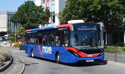 GSC morebus 233 - HF18CGY - Poole (Kingland Road)
