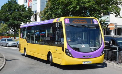 RATP Yellow Buses 854 - HF13FZO - Poole (Kingland Road)