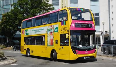 RATP Yellow Buses 203 - SN17MTX - Poole (Kingland Road)