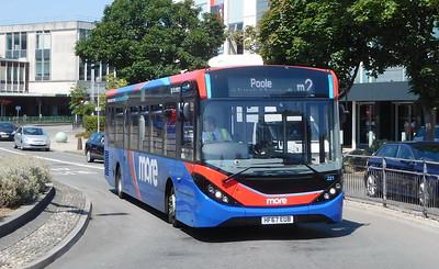 GSC morebus 221 - HF67EUB - Poole (Kingland Road)