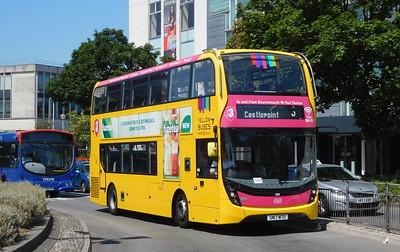 RATP Yellow Buses 200 - SN17MTO - Poole (Kingland Road)
