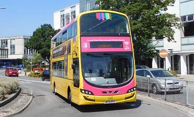 RATP Yellow Buses 196 - BF15KFG - Poole (Kingland Road)