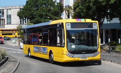 RATP Yellow Buses 106 - YJ10MDU - Poole (Kingland Road) - Poole (Kingland Road)