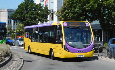RATP Yellow Buses 857 - HF13FZS - Poole (Kingland Road)