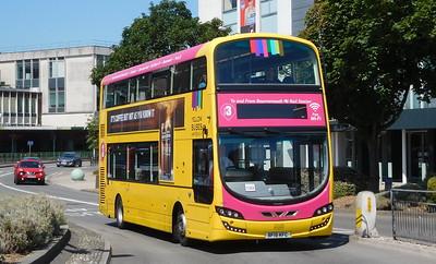 RATP Yellow Buses 193 - BF15KFC - Poole (Kingland Road)