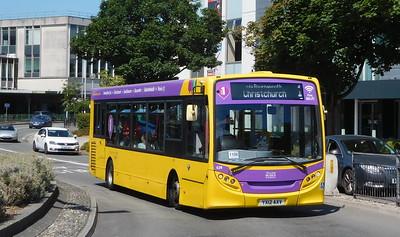RATP Yellow Buses 536 - YX12AXV - Poole (Kingland Road)