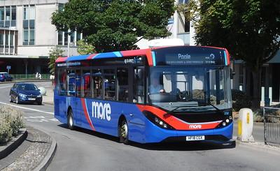 GSC morebus 232 - HF18CGX - Poole (Kingland Road)