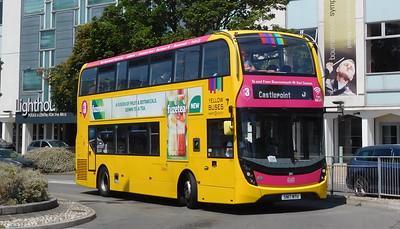 RATP Yellow Buses 201 - SN17MTU - Poole (Kingland Road)