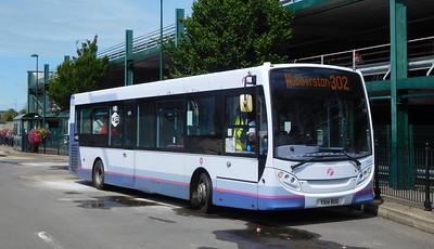 First Cymru 44605 - YX14RUO - Haverfordwest (bus station)