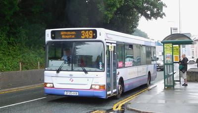 First Cymru 42880 - SF05KXB - Tenby (Lower Park Road)