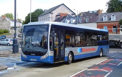 Richards Brothers YJ55BKN - Haverfordwest (bus station)