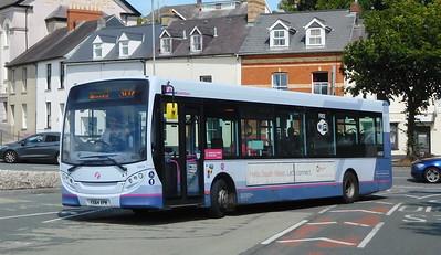 First Cymru 44636 - YX64VPM - Haverfordwest (bus station)
