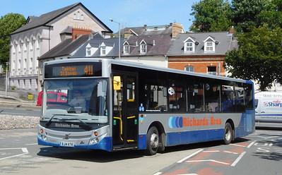 Richards Brothers BJ14KTK - Haverfordwest (bus station)
