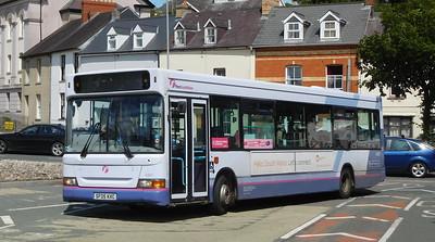 First Cymru 42881 - SF05KXC - Haverfordwest (bus station)