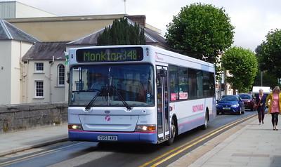 First Cymru 42680 - CU53ARO - Haverfordwest (Victoria Place)