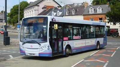 First Cymru 44634 - YX64VPK - Haverfordwest (bus station)