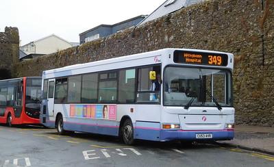 First Cymru 42867 - CU53AVR - Tenby (South Parade)