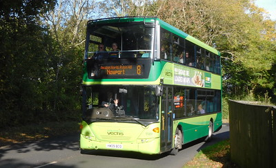 Southern Vectis 1149 - HW09BCO - Whitecliff Bay (Hillway Road)