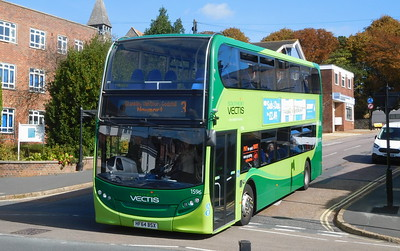 Southern Vectis 1596 - HF64BSX - Shanklin (Carter Road)