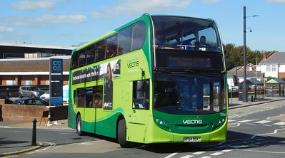 Southern Vectis 1596 - HF64BSX - Shanklin (Collingwood Road)