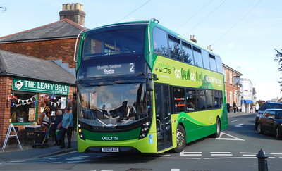 Southern Vectis 1659 - HW67AHX - Shanklin (Clarendon Road)