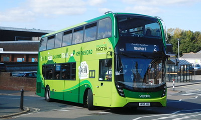 Southern Vectis 1657 - HW67AHU - Shanklin (Collingwood Road)