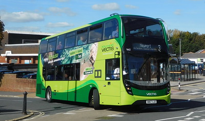 Southern Vectis 1662 - HW67AJO - Shanklin (Collingwood Road)