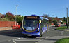 First Hants & Dorset 63047 - SK63KHY - Clanfield (Drift Road) - 29.10.13