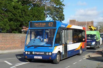 Stagecoach South 47645 - GX58GJU - Chichester (Basin Road) - 28.10.14