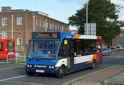 Stagecoach South 47646 - GX58GJV - Chichester (Basin Road) - 28.10.14