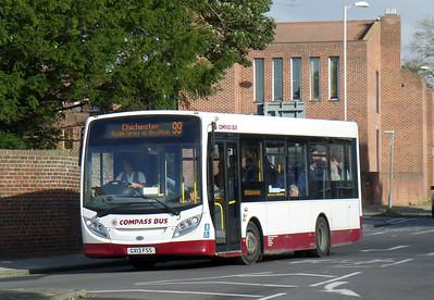 Compass Bus GX13FSS - Chichester (Basin Road) - 28.10.14