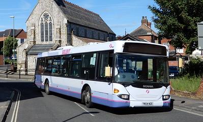 First Solent 65009 - YN54NZE - Fareham (Western Road)