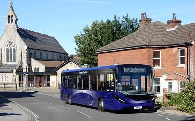 First Solent 67183 - YX66WBZ - Fareham (Western Road)