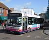 First Somerset & Avon 40588 - YG51RGO - Trowbridge (Market Place) - 3.3.12