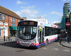 First Somerset & Avon 66945 - WX55TZG - Trowbridge (Market Place) - 3.3.12