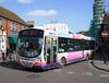 First Somerset & Avon 66942 - WX55TZD - Trowbridge (Market Place) - 3.3.12