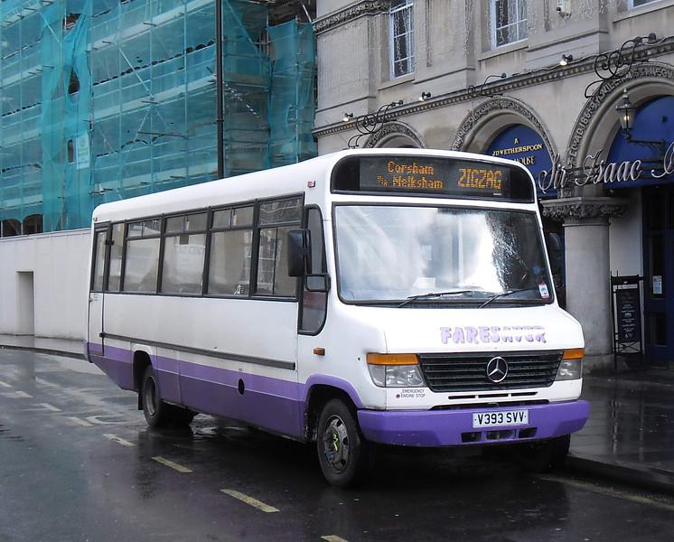 Faresaver V393SVV - Trowbridge (Market Place) - 3.3.12