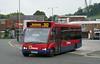 Damory 3666 - V966DFX - Yeovil (bus station) - 27.8.14