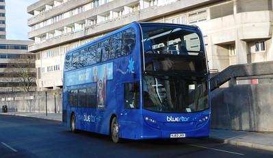 GSC BlueStar 1528 - HJ63JHX - Southampton (Blechynden Terrace)