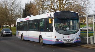First Southampton 69245 - YJ07WFM - Millbrook (Kendal Avenue)