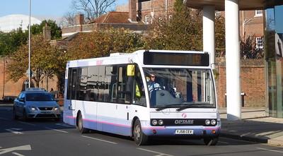 First Solent 53065 - YJ58CEV - Portsmouth (Queen St)
