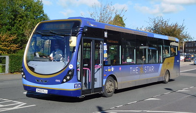First Solent 63052 - SK63KJJ - Cosham (Highbury Buildings)
