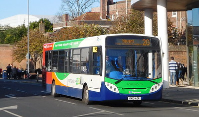 Stagecoach in Portsmouth 27871 - GX13AOR - Portsmouth (Queen St)