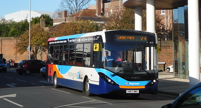 Stagecoach in Portsmouth 26162 - SN67WWG - Portsmouth (Queen St)