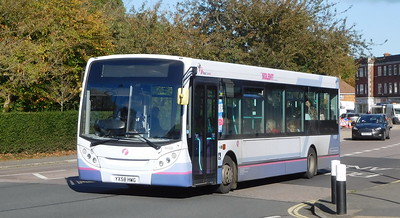 First Solent 44508 - YX58HWG - Cosham (Highbury Buildings)