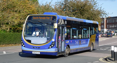 First Solent 63055 - SK63KJU - Cosham (Highbury Buildings)